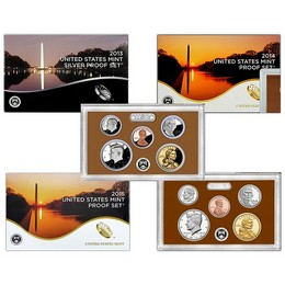2012-2016 Proof Sets in original U.S. Mint issued packaging
