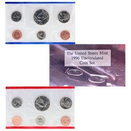 1996 Mint Set in OGP (11 coins)