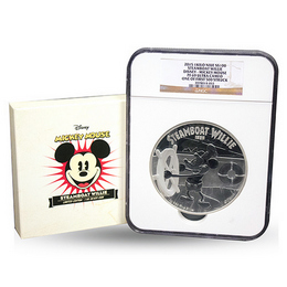 2015 Niue 1 kilo Steamboat Willie NGC PF69 UC