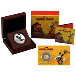 2016 Mickey Mouse - Brave Little Tailor (1938) Silver & Gold Combo