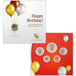 Happy Birthday Coin Set 2017
