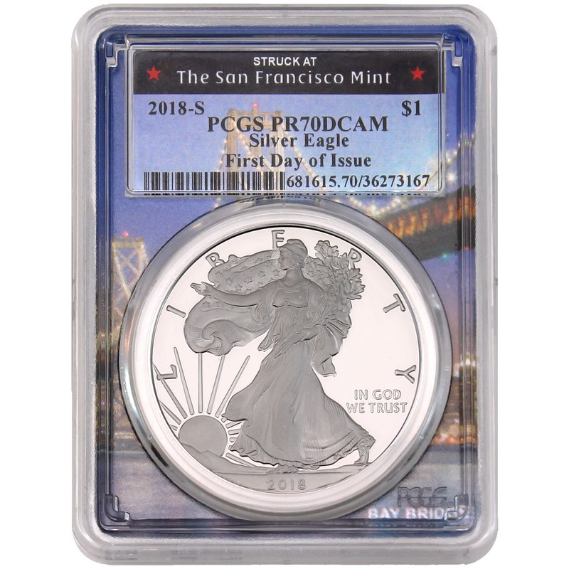 2018 S Proof American Silver Eagle From Limited Edition Set Ngc Pf69 Uc