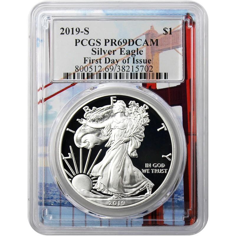 PCGS PR69 DCAM 2019-S American Silver Eagle Proof