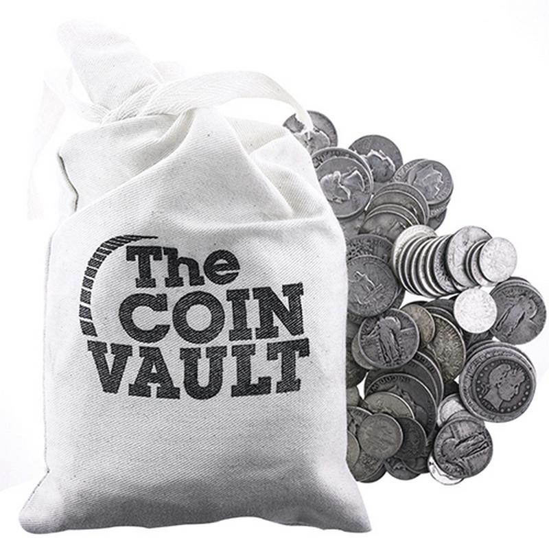 16 Ounces 1 POUND 90/% Silver Coins Half Dollars Quarters Dime