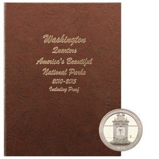 2010-2015 America the Beautiful National Parks Quarters in Dansco Album