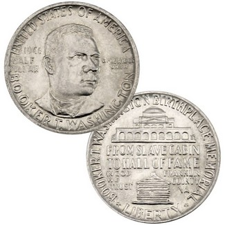 Booker T Washington Half Dollar Commemorative AU/BU