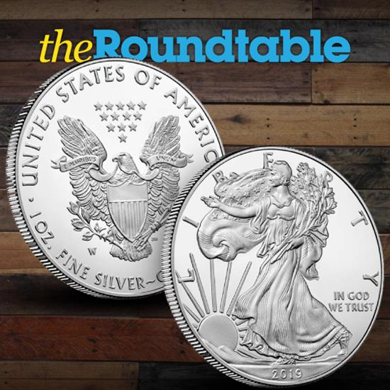 The Burnished Silver American Eagle