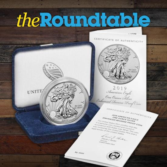 Enhanced Reverse Proof American Silver Eagle Up Next On U.S. Mint's Production Schedule