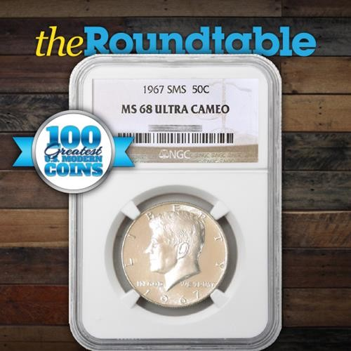 100 Greatest U.S. Modern Coins Series: 1965-1967 Special Mint Set Coinage, Ultra Cameo