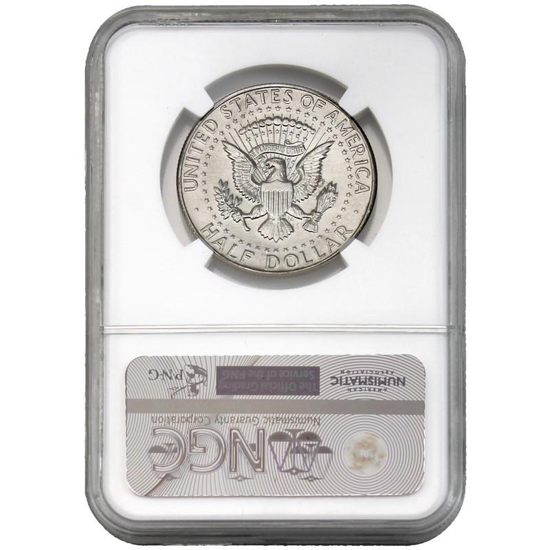 1968 D Kennedy Silver Half Dollar NGC MS65+