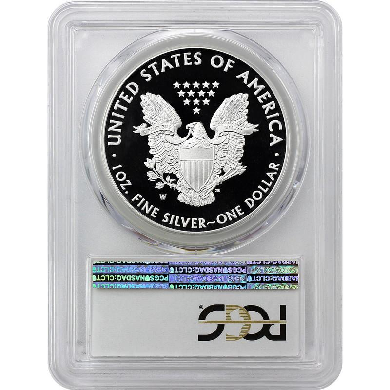 2016-W Silver Eagle Congratulations Set~ Lettered Edge~ 30th Ann~  PR69 DCAM