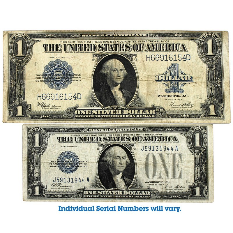The Coin Vault Currency Silver Certificates Red Seals And Uncut