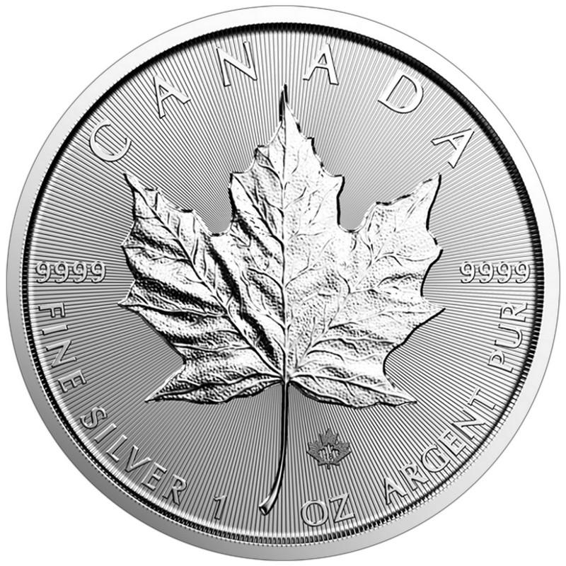 1988 Canada Royal Canadian Mint RCM Maple Leaf 1 oz 9999 Silver Mint Sealed