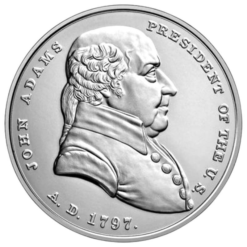 2018 George Washington 1 oz .999 Fine Silver Presidential Medal