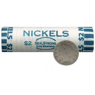 Classic Collection: V-Nickel Roll Of 40 Coins
