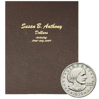 1979 - 1999 Complete Susan B Anthony Dollar Set Dansco