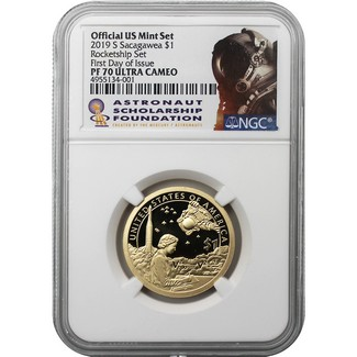 2019 D 50c Kennedy ProofLike NGC MS 68 PL ROCKET SHIP SET First Releases LIVE
