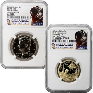 2019-S Sacagawea Native American Dollar PR69DCAM PCGS First Day of Issue FDOI