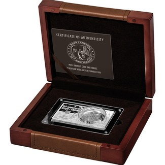 2019 50th Anniversary Moon Landing (1969-2019) Silver Coin & Bar Set