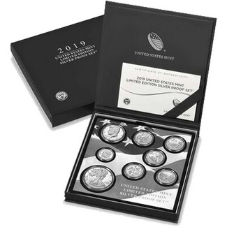 2019 Limited Edition Silver Proof Set OGP